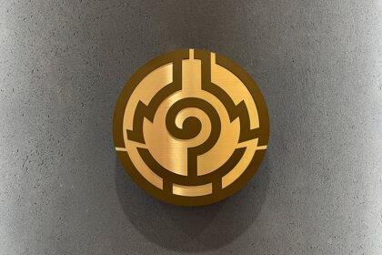 本門佛立宗のシンボル「佛丸(ぶつまる)」